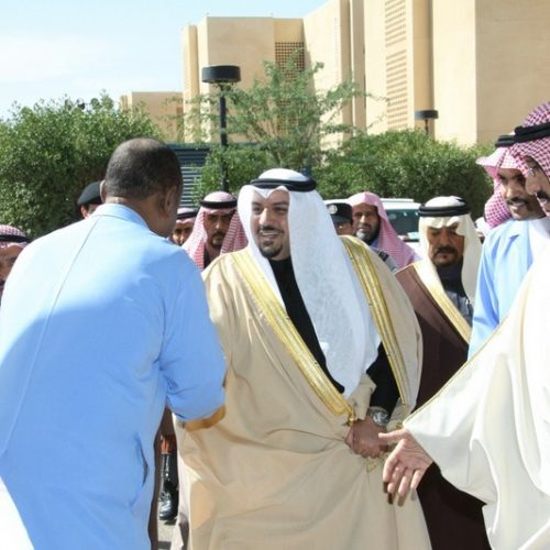 زيارة الأمير فيصل بن مشعل لكلية التقنية ببريدة